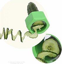 BYFRI 1pc Vegetable Spiralizer Vegetable Screw