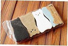 BYFRI 4pcs/Set Cute Cat Shape Sponge Scouring Pads