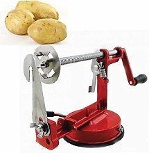 Byfri Manual Red Stainless Steel Twisted Potato