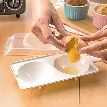 BYFRI Microwave Oven Egg Poacher, Microwavable