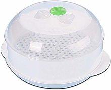 BYFRI Microwave Steamer Round Plastic Steamer