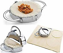 BYFRI Stainless Steel Dumpling Maker 1pc Small and