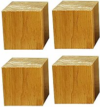 BYGZZ Solid Wood Furniture Legs,Square Sofa