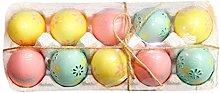 byou Easter Egg Decorations,Plastic Easter Eggs 10