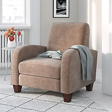 Byrnes Armchair Three Posts Upholstery Colour: