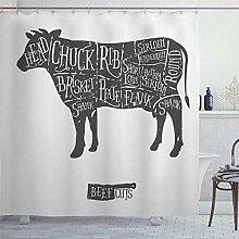 BYRON HOYLE Loin Farm Cuts Beef Vintage Graphic