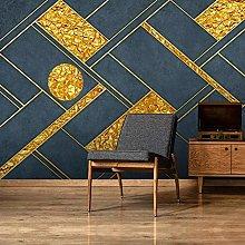 BYSQX Non-Woven Wallpaper Geometric Abstract
