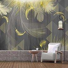 BYSQX Non-Woven Wallpaper Geometric Golden Fashion