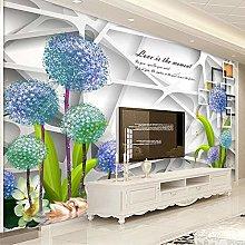 BYSQX Non-Woven Wallpaper Geometry Dandelion