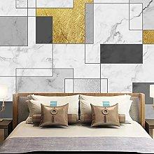 BYSQX Non-Woven Wallpaper Geometry Marble