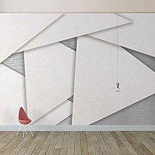 BYSQX Non-Woven Wallpaper Geometry Simplicity