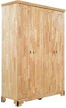 Byzanz 2 Door Wardrobe Massivum Colour: Brown