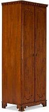 Byzanz 2 Door Wardrobe Massivum Colour: Dark brown