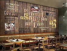 BZZB 3D Wall artWooden Board, English Alphabet,