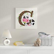 C Canvas Art HoneyBee Nursery