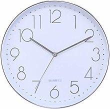 C-J-Xin 12 Inches Plastic Clocks Simple Big Wall