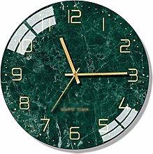 C-J-Xin Glass Quartz Clock Art Wall Hanging Clocks