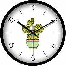 C-J-Xin Simple Clocks, Big Black Numbers Wall