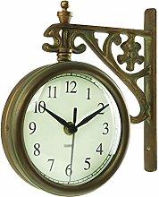C-J-Xin Wall Hanging Wall Clock, Rotatable Wall
