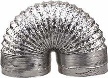 Cabilock 1.5m Aluminum Duct Hose Flex Foil Air