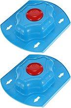 Cabilock 2pcs Food Slicer Safety Holder Mandoline