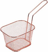 Cabilock 3pcs Metal Deep Fry Basket Square Fry