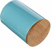 Cabilock 900ml Light Blue Ceramic Canister with