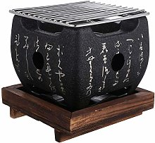 Cabilock Charcoal Grill Indoor Grill with Non-