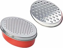 Cabilock Cheese Grater Stainless Steel Coarse