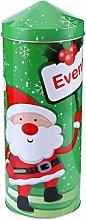 Cabilock Christmas Candy Box Christmas Empty Tins