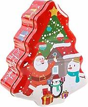Cabilock Christmas Tinplate Empty Tins Christmas