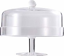 Cabilock Clear Acrylic Cake Stand Cake Plate with
