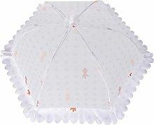 Cabilock Collapsible Mesh Food Cover Tent Umbrella