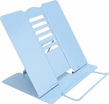 Cabilock Desk Book Stand Metal Reading Book Holder