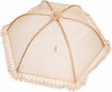 Cabilock Foldable Food Cover Clear Lace Umbrella