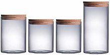 Cabilock Food Storage Canisters Glass Kitchen