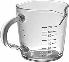 Cabilock Glass Espresso Measuring Cup Espresso