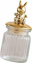 Cabilock Glass Storage Jar Containers Food Storage