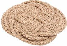 Cabilock Hot Pot Holder Cotton Thread Trivet Mat