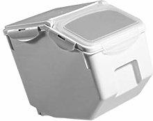 Cabilock Kitchen Rice Storage Container Flip Top