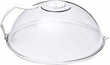 Cabilock Microwave Splatter Cover Clear Food Plate