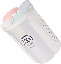 Cabilock Plastic Food Storage Jar Kitchen Canister