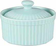 Cabilock Ramekin Bowls with Lid Ceramic Bakeware
