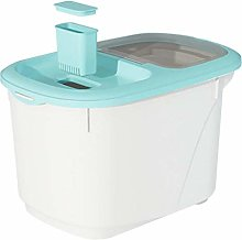 Cabilock Rice Storage Bin 15KG Cereal Containers