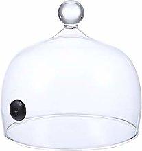 Cabilock Smoking Cloche Dome Cover Smoke Infuser