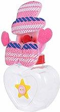 Cabilock Snowman Candy Storage Jars Plastic
