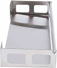 Cabilock Spice Rack Stainless Steel Wall Mounted
