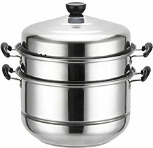 Cabilock Stainless Steel 3 Layer Thick Steamer