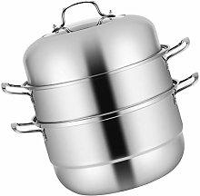 Cabilock Stainless Steel Steamer Soup Steam Pot