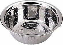 Cabilock Stainless Steel Strainer Colander Bowl